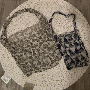 Free People Set of 2 Totes Bags